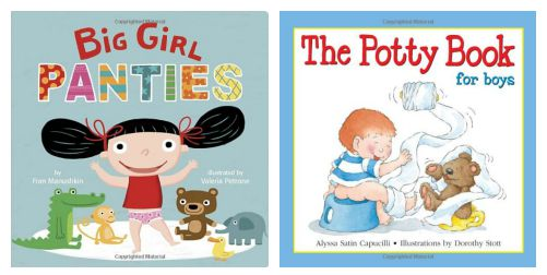 potty training books - big girl panties and the potty book