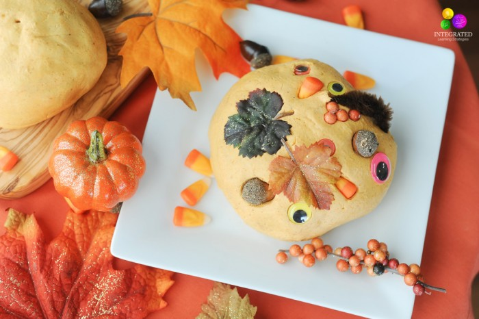 Pumpkin Play Dough Recipe