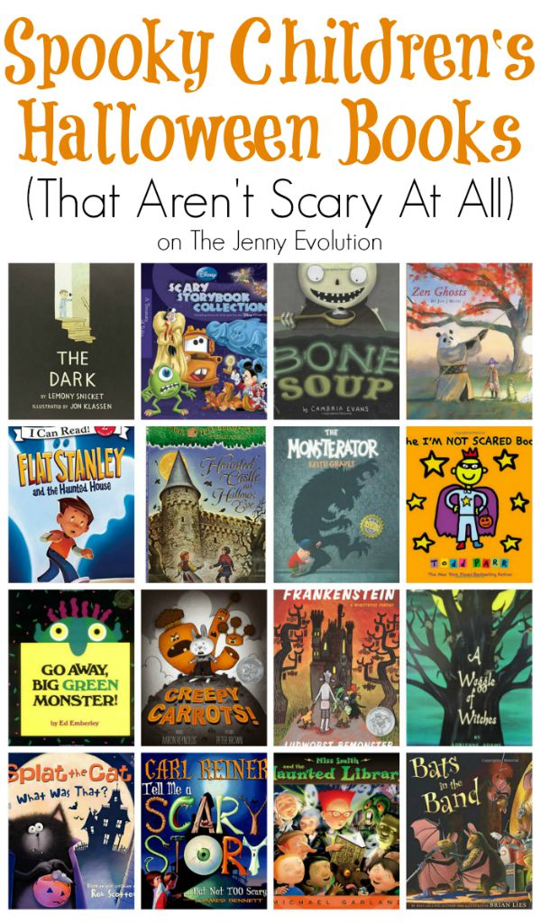 Spooky Children's Halloween Books That Aren't Scary At All | The Jenny Evolution