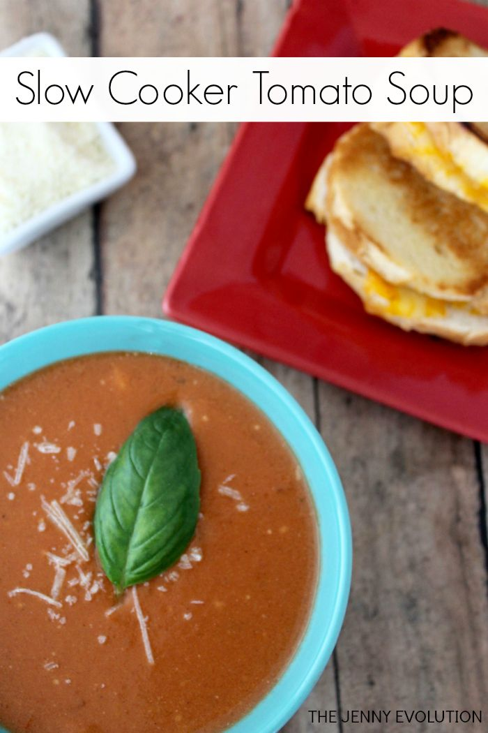 Slow Cooker Tomato Soup Recipe | Mommy Evolution