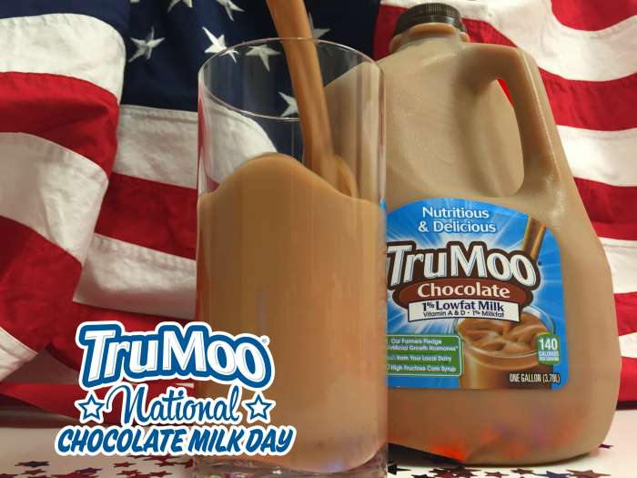 National Chocolate Milk Day with TruMoo