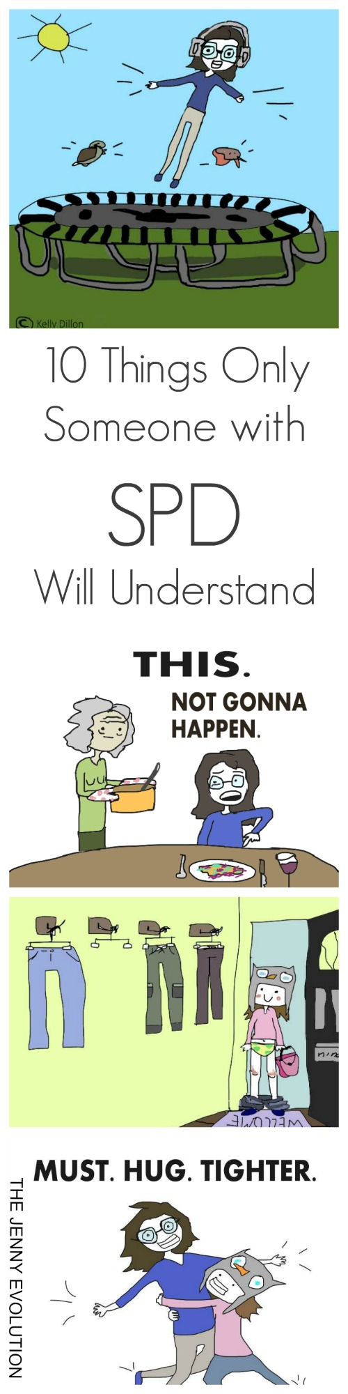 10 Things Only Someone with SPD Will Understand