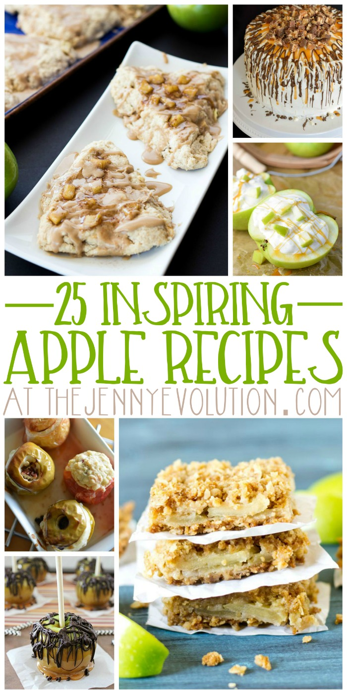 25 Inspiring Apple Recipes | The Jenny Evolution