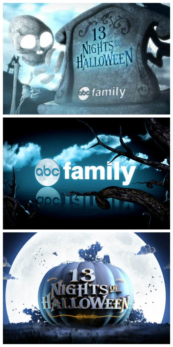 ABC Family Halloween Movie Schedule! 13 Nights of Halloween TV for the Family
