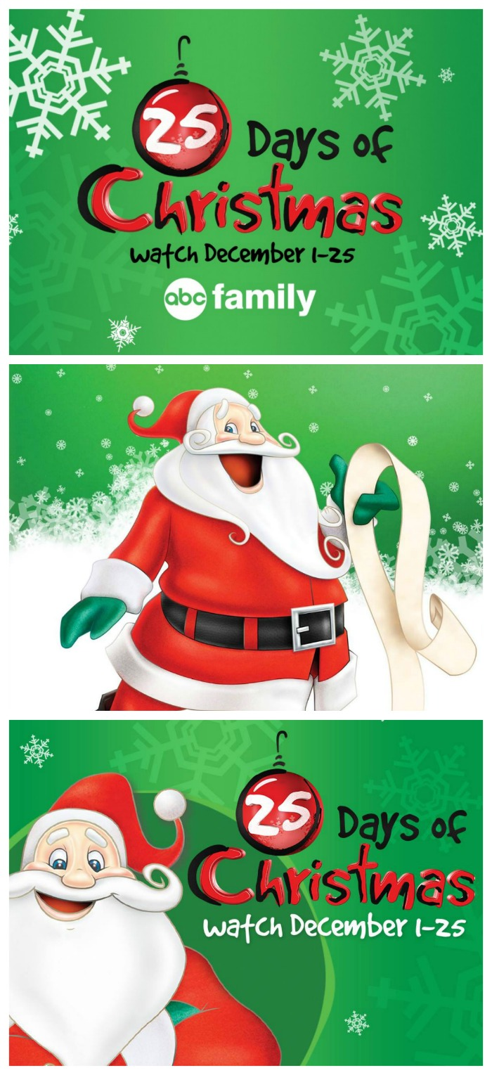 ABC Family Christmas Movies Schedule | The Jenny Evolution