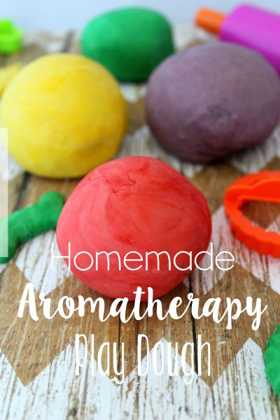 Homemade Aromatherapy Play Dough Tutorial