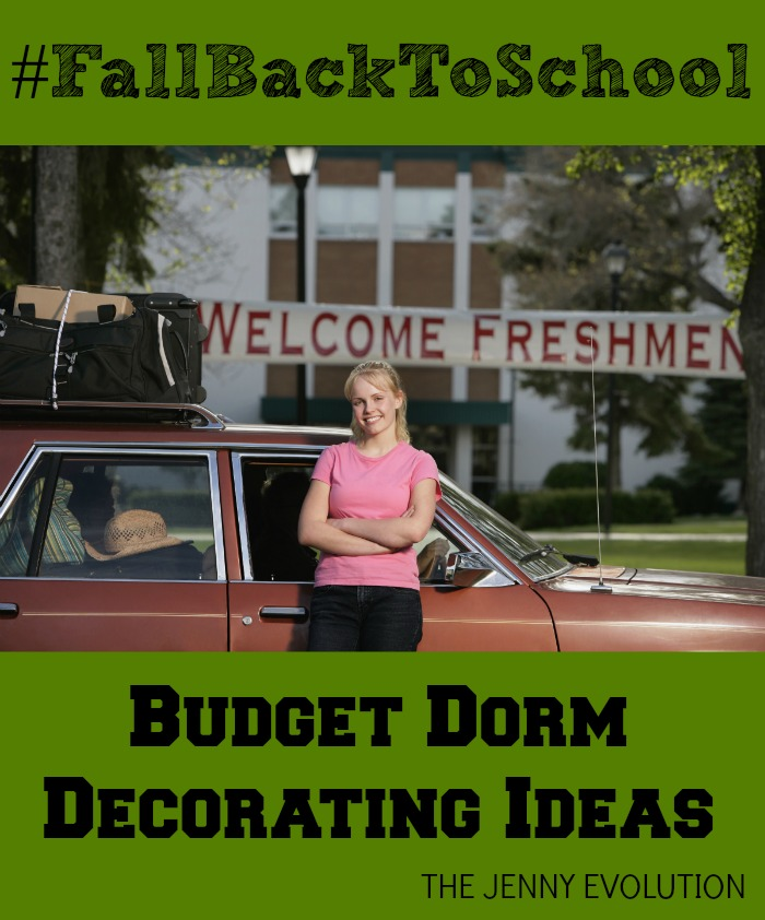 Budget Dorm Decorating Ideas | The Jenny Evolution AD #FallBackToSchool