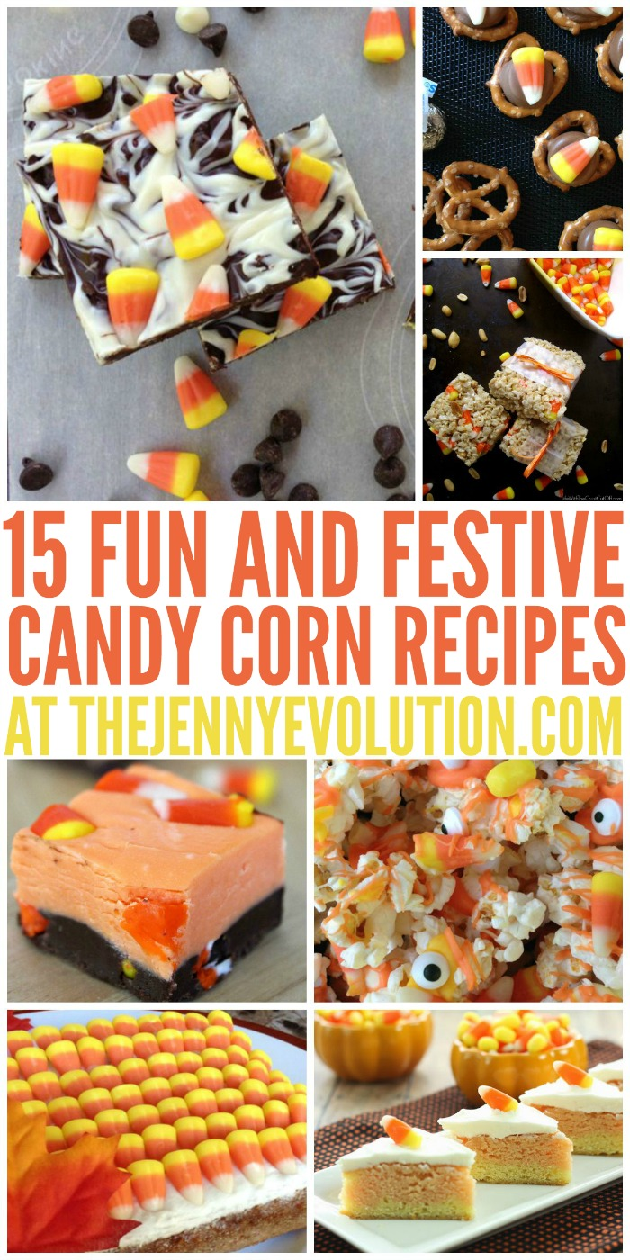 Oodles of Candy Corn Recipes - just in time for Halloween, Thanksgiving & Fall! - Mommy Evolution