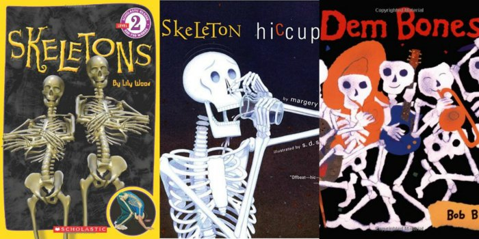 skeleton books