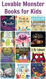 Lovable Monster Books for Kids | The Jenny Evolution