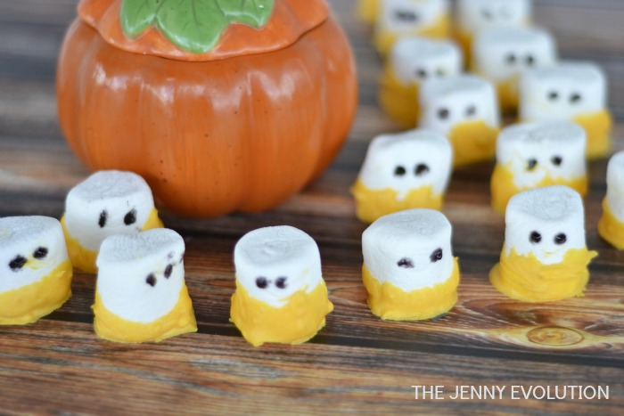 Marshmallow Ghost Treat Tutorial | The Jenny Evolution