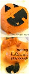 Melting Halloween Play Dough Sensory Activity | The Jenny Evolution