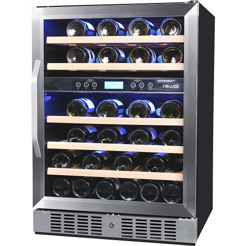 NewAir AWR-460DB Dual-Zone Built-In Compressor Wine Cooler