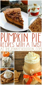 Pumpkin Pie Recipes with a Twist | The Jenny Evolution
