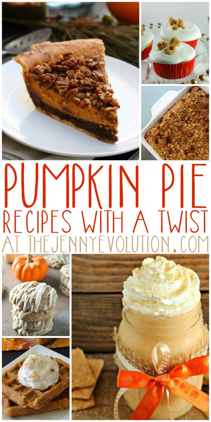 Pumpkin Pie Recipes with a Twist | Mommy Evolution