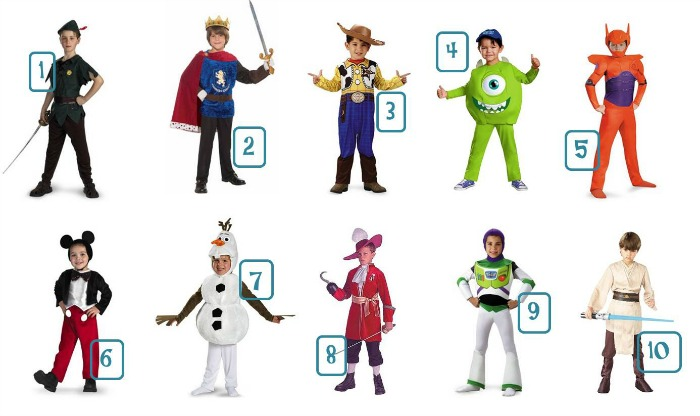 sc 1 st  Mommy Evolution & Boy Disney Costumes Under $30 | The Jenny Evolution