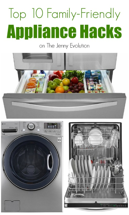 Top 10 Family Friendly Appliance Hacks | The Jenny Evolution