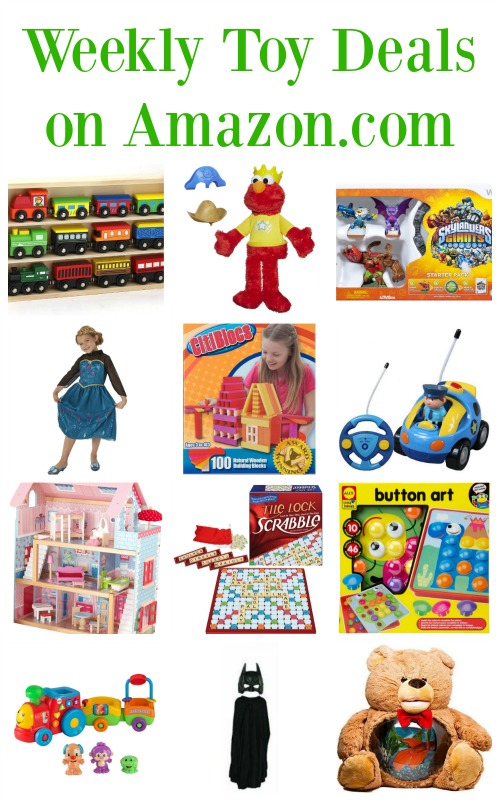 Best Toy Deals at Amazon. Amazon has tons of toy deals right now too, including 30% off sales on most Melissa & Doug toys and across-the-board discounts on Funko figures. Also, in many cases, Amazon matches prices with the toy sales at Walmart and Target.