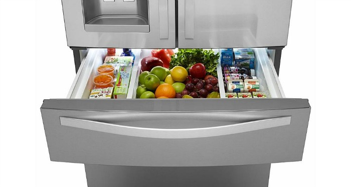 Whirlpool 25.0 cu. ft. French Door Refrigerator w Refrigerated Drawer - Stainless Steel
