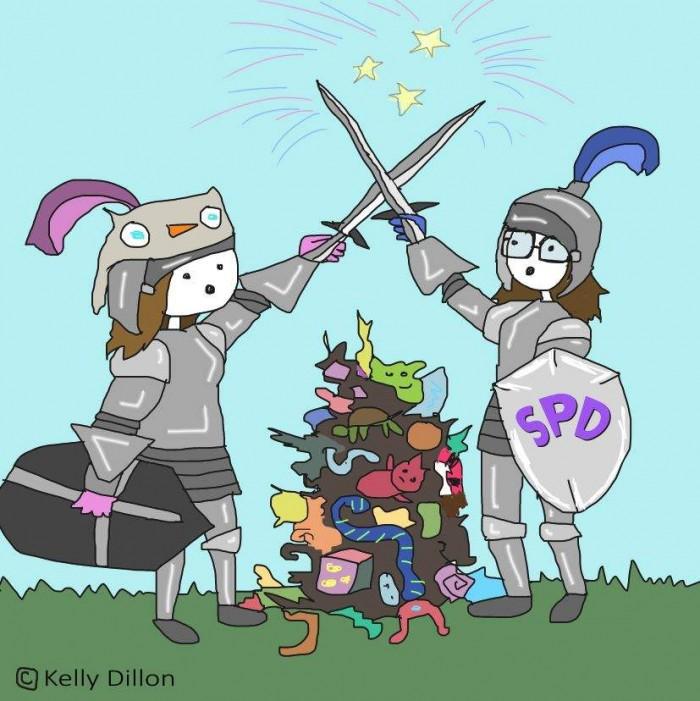 fidget knights