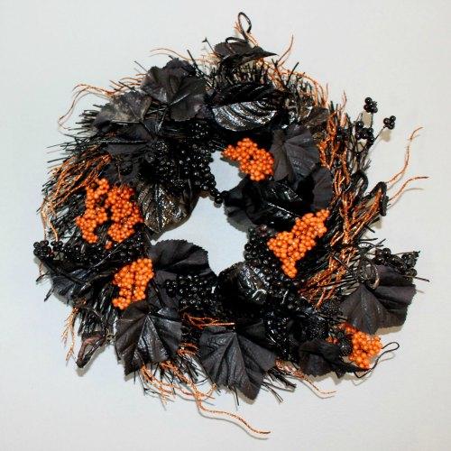 final orange and black wreath SQUARE