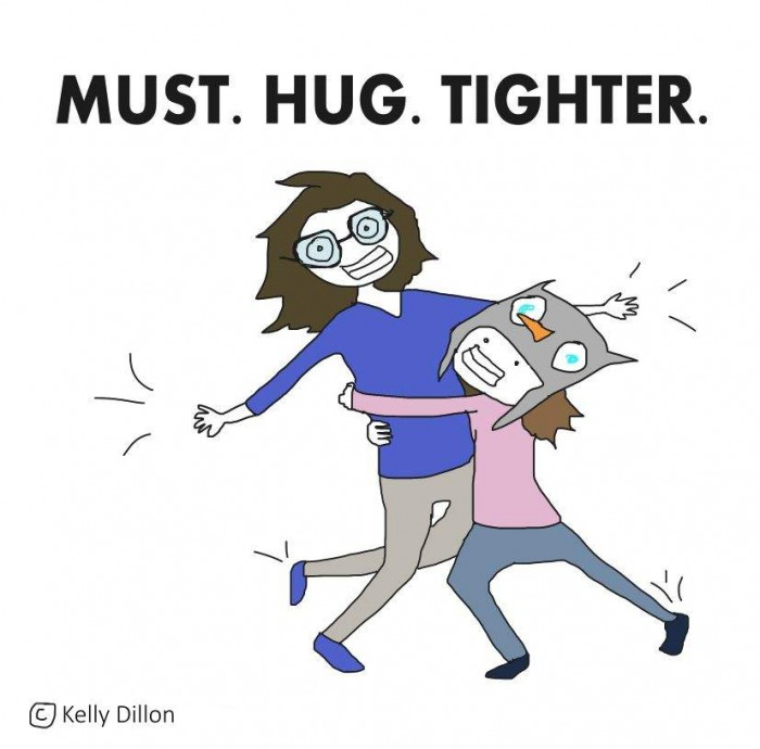 must hug tighter