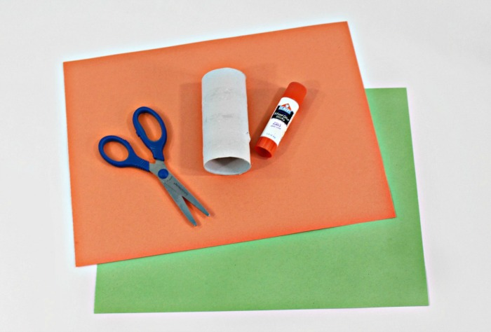 1 paper pumpkin craft for kids supplies pic