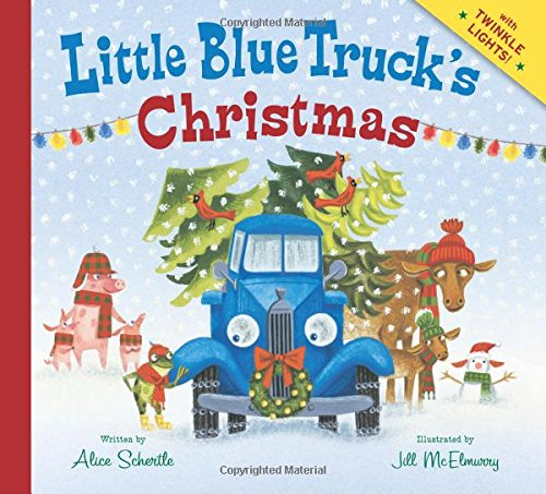 little blue trucks christmas its the most wonderful time of the year little blue truck is spreading cheer by delivering christmas trees to his animal