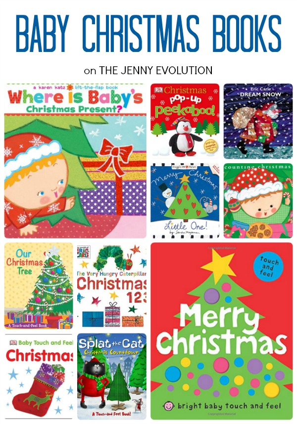 Baby Christmas Books | The Jenny Evolution