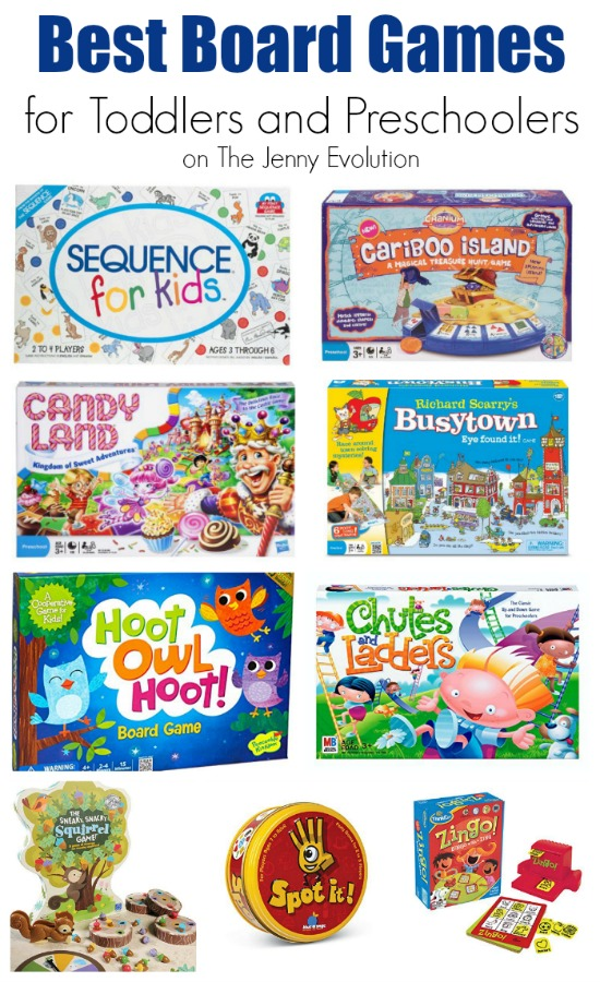 Best Board Games for Toddlers and Preschoolers + Bonus! Card Games for Toddlers | Mommy Evolution