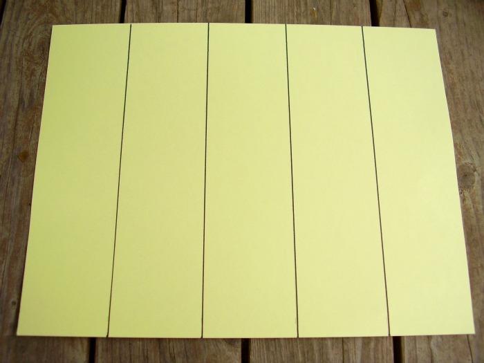 Book Mark Card Stock