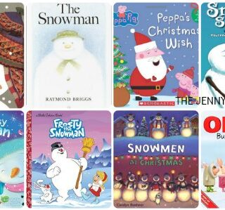 Books about Snowmen for Kids