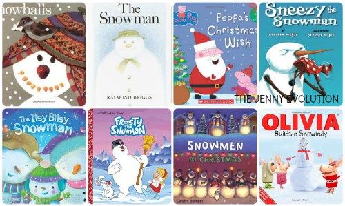 children's snowman books