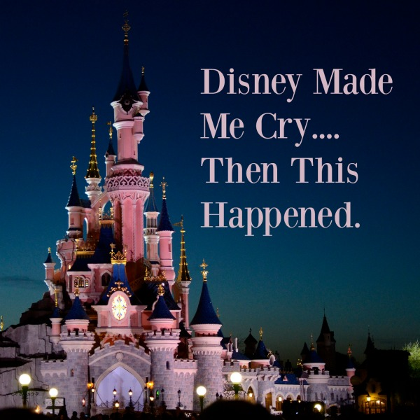 Disney World Made Me Cry.... Then This Happened. Find out what happened when this mom burst out in tears.