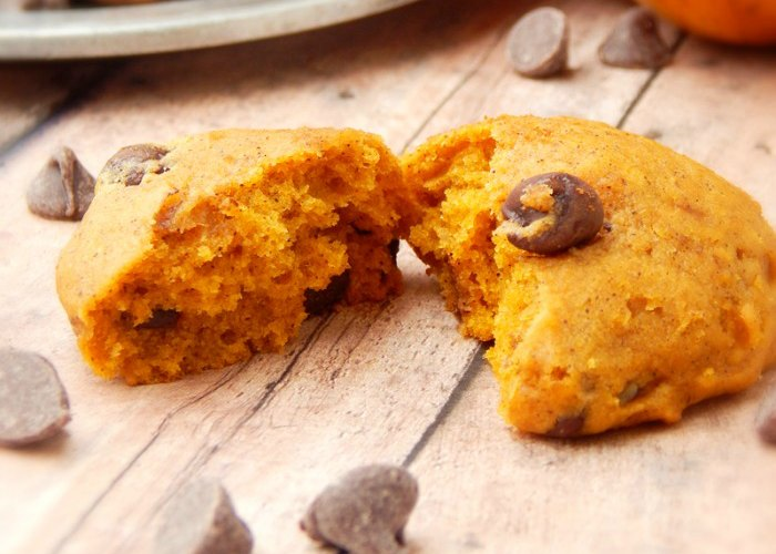 FB Pumpkin Chocolate Chip Cookies Recipe