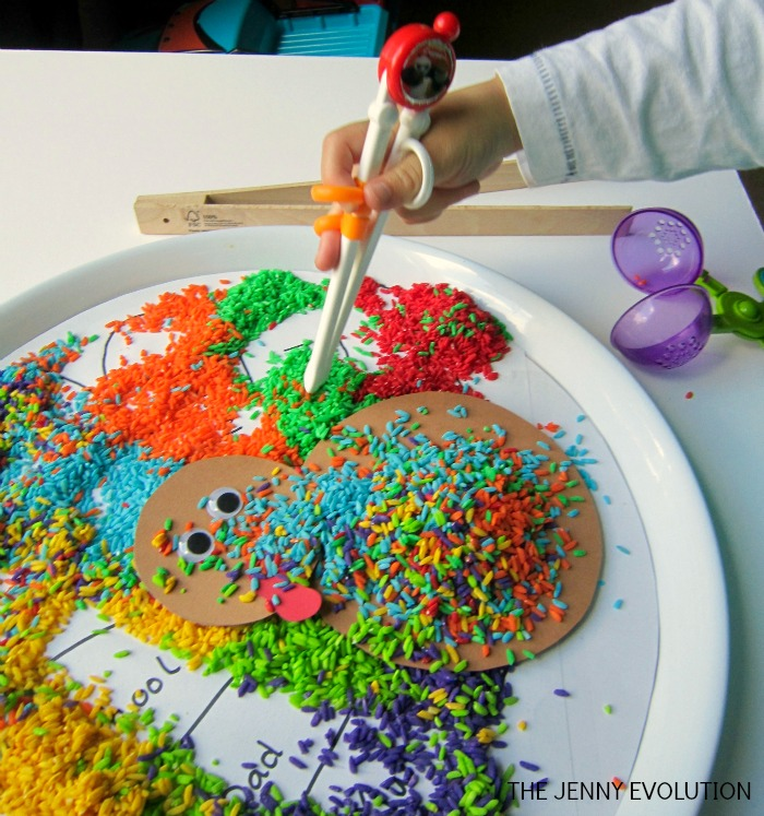 Gratitude Turkey Fine Motor Activity for Thanksgiving