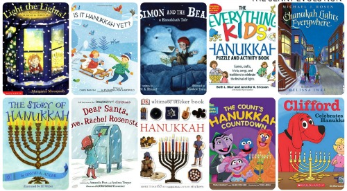 Hanukkah Childrens Books