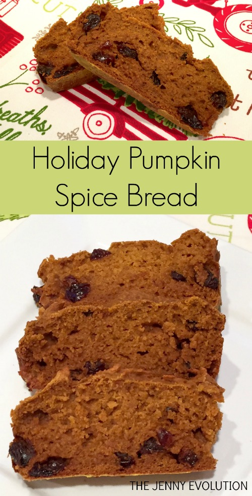 Holiday Pumpkin Spice Bread | The Jenny Evolution