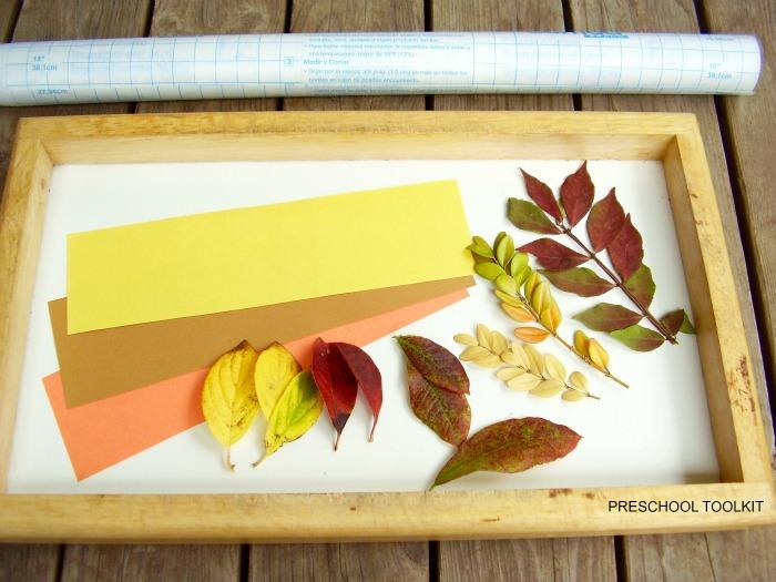 Leaf Bookmark Supplies