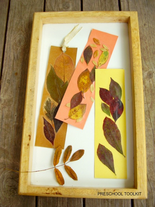 Leaf Bookmarks Completed