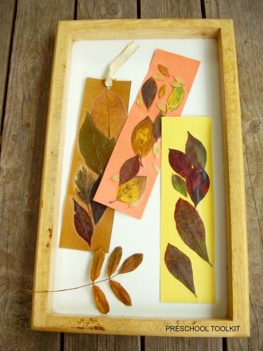 Leaf Bookmarks Completed