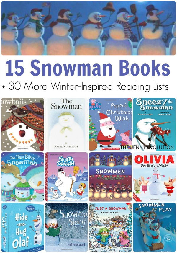 Snowman Books for Children | The Jenny Evolution
