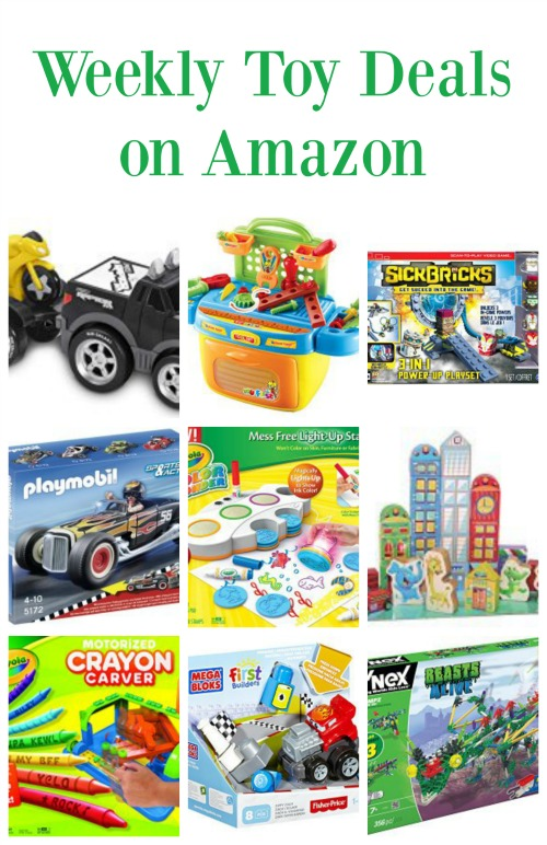 Weekly Toy Deals on Amazon | The Jenny Evolution