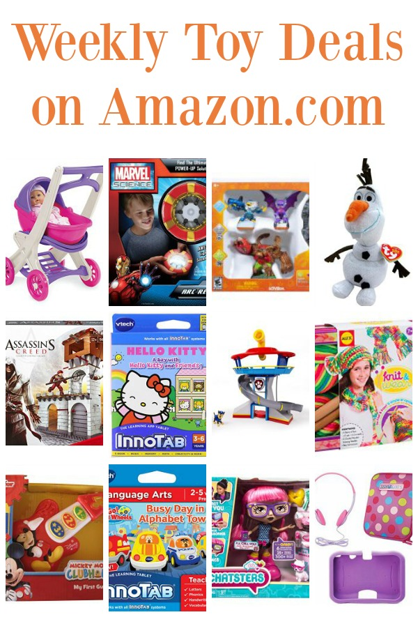 Weekly Toy Sale on Amazon | The Jenny Evolution