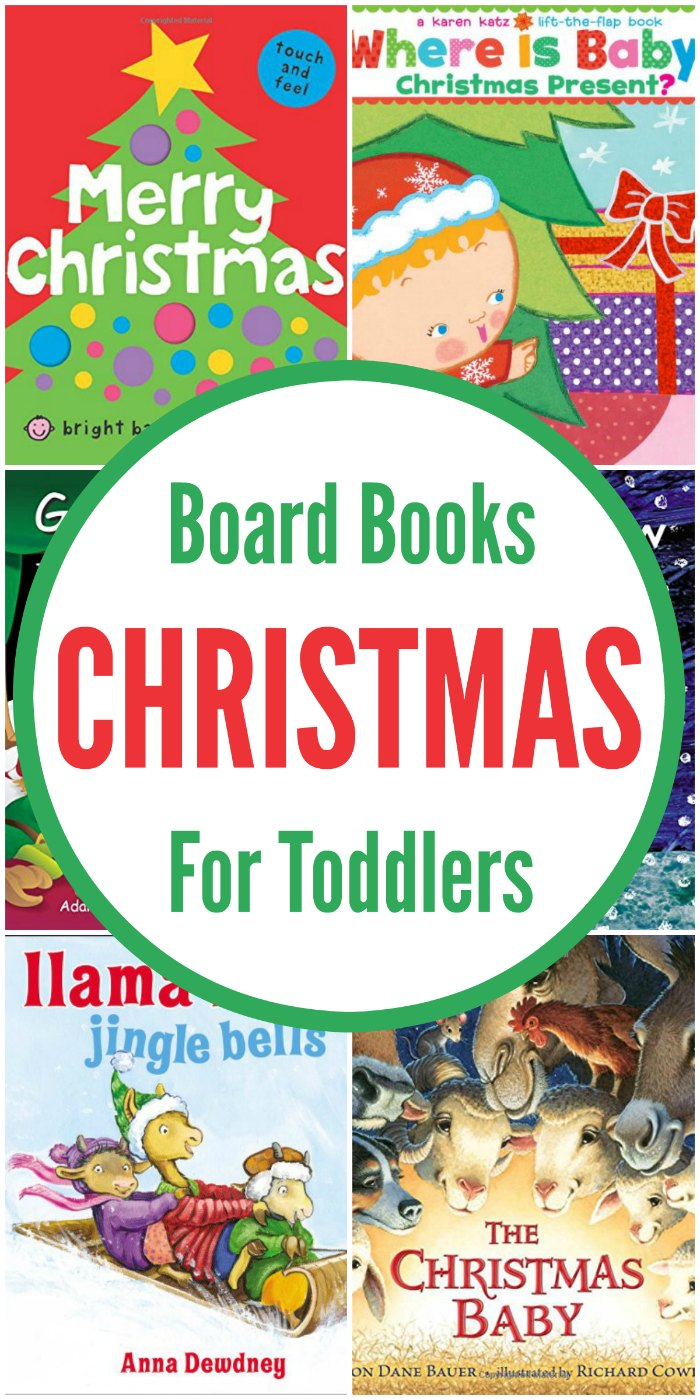 25 Christmas Board Books for Toddlers | Mommy Evolution