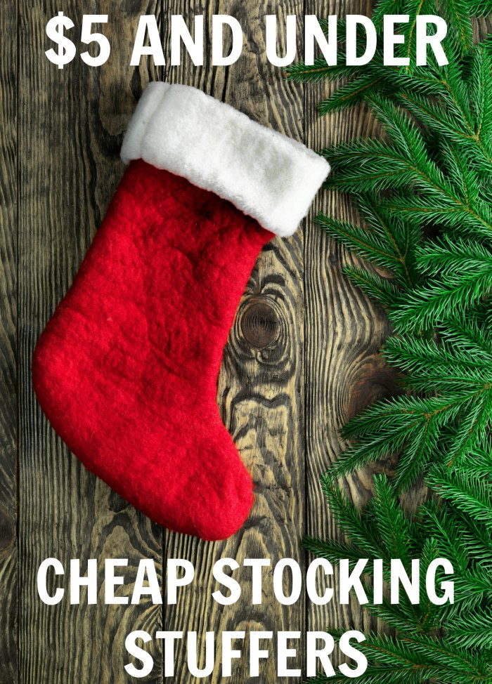Cheap Stocking Stuffers $5 and Under - Inexpensive Christmas presents | Mommy Evolution