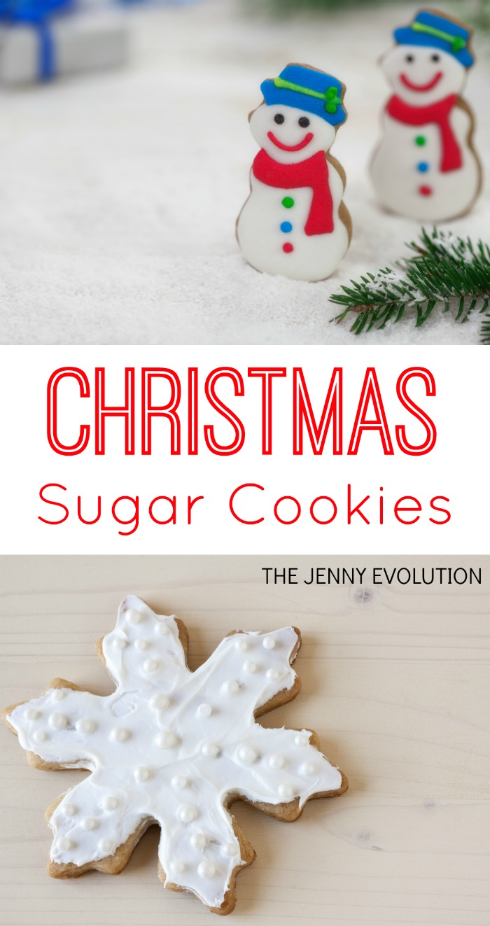Christmas Sugar Cookies Recipe and Decorating Ideas | The Jenny Evolution