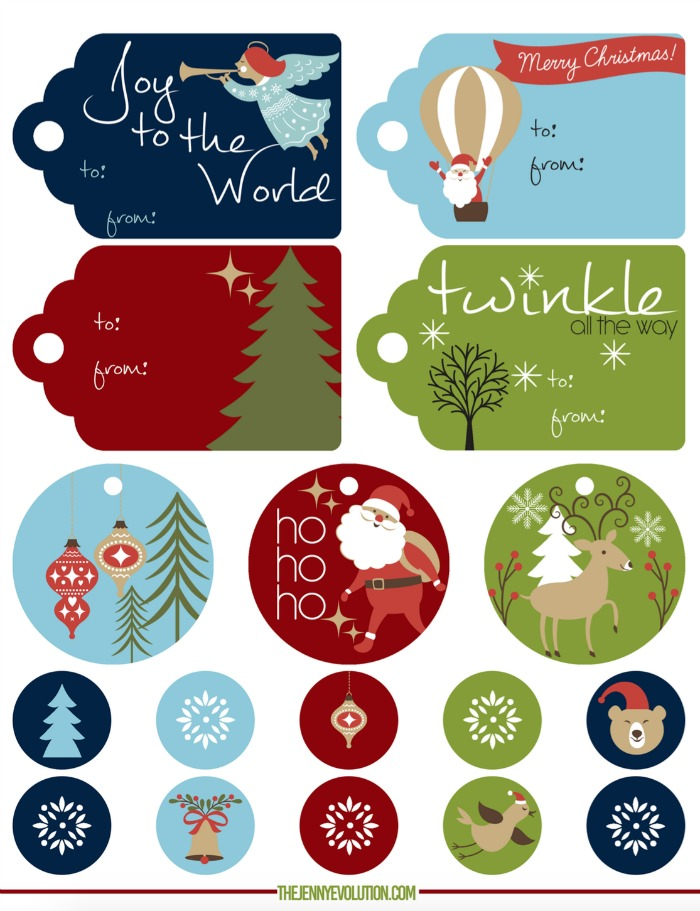 photo about Christmas Tag Free Printable known as Absolutely free Printable Xmas Present Tags Mommy Evolution
