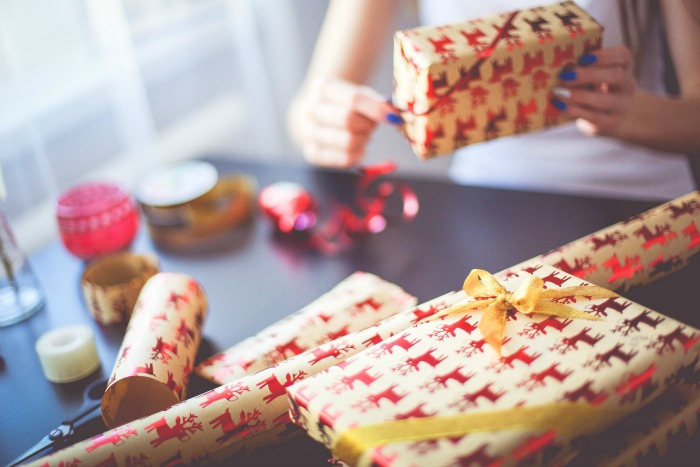 Christmas Wrapping Gifts