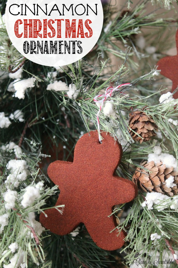 Cinnamon Christmas Ornaments Tutorial